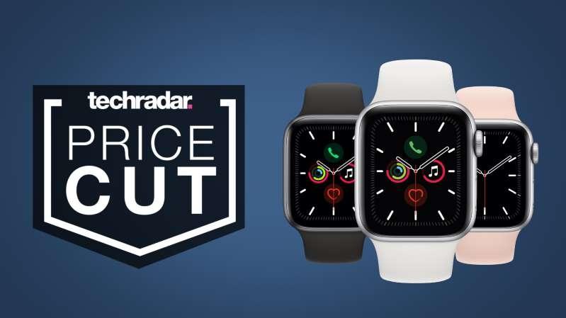 一个迹象的特写:苹果手表交易价格亚马逊便宜最好