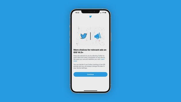 Twitter的iOS应用开始提示用户启用广告跟踪功能